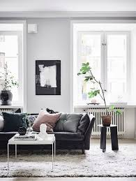 Black And White Chair And Ottoman Design Ideas Bathroom Design Industrial Living Room Ideas With Black Sofa