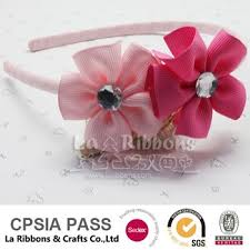 ribbon hair bands luxury ribbon flower hair band princess hair bow buy ribbon