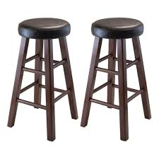 Home Bar Sets by Amazon Com Winsome Wood Marta Assembled Round Counter Stool With