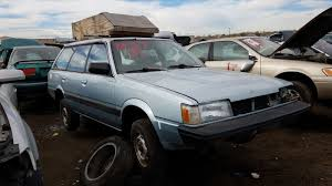 subaru minivan junked 1992 subaru loyale photo gallery autoblog