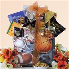 sports gift baskets autumn