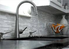 Backsplash For Black Cabinets - my beautiful kitchen renovation with allen roth shimmering lights