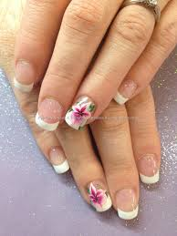 flower gel nail designs choice image nail art designs