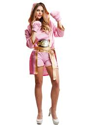 boxer costume woman s pink boxer costume
