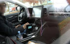 renault van interior spyshots 2017 renault d segment crossover shows interior for the