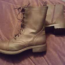 target womens boots zipper mossimo brown combat boots target brown combat boots never worn