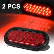 2 led trailer lights oval led truck trailer light 6 led stop turn tail light with 24