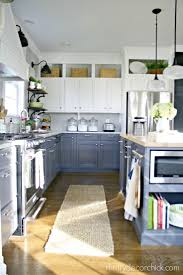 best images about kitchens pinterest base cabinets spice stunning diy kitchen makeover click see her before and afters truly