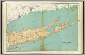 Suffolk County Map Print By Suffolk County David Rumsey Historical Map Collection