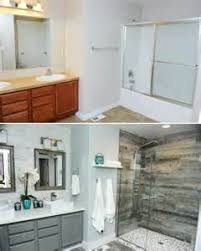 old bathroom remodel before after tsc