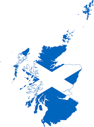 file flag map of scotland svg wikimedia commons