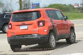 red jeep patriot 2017 jeep patriot mule spied testing with renegade body