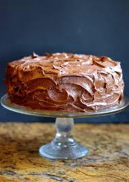 banana layer cake with chocolate cream cheese frosting bakerita