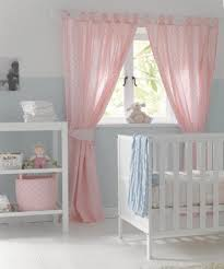 Pink Nursery Curtains Well Suited Pink Nursery Curtains Impressive Baby For Decorating