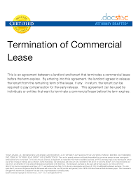 Notice Of Termination Of Lease Agreement By Landlord by Cover Letter Sample Office Lease Sample Office Space Lease