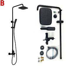 popular bath faucet with hand shower with black buy cheap bath