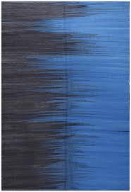 Modern Blue Rug Turkish Modern Blue Flatweave Wool Rug 19065