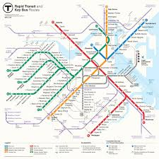 Green Line Metro Map by Mbta Gets A New Map The Boston Globe