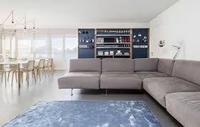 Storage Behind Sofa Apartment Stylish Modern Apartment Room Design In Perfect Looks