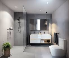 Grey Modern Bathroom Modern Bathrooms Best 25 Grey Modern Bathrooms Ideas On Pinterest
