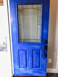 how to update curb appeal paint your door