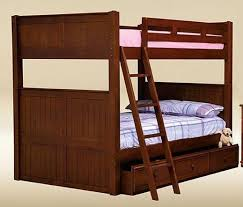 Wood Beadboard - dillon wood beadboard queen over queen bunk bed with storage