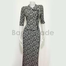 middle sleeve of myanmar dress black color design bagantrade