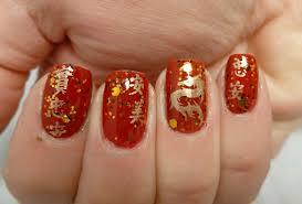 nail art ideas chinese new year nails twentysixnails
