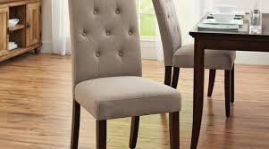 How To Make Dining Room Chairs by Dining Room Intrigue Tufted High Back Dining Room Chairs