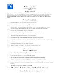 sle college resume for accounting students software resume objective junior accountant therpgmovie