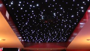 Home Theatre Design On A Budget by Installing A Fiber Optic Starfield Ceiling Make