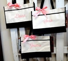 bridal party gift bags 25 beste ideeën bruidsmeisje gave tassen op