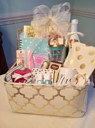 best friend gift basket engagement gift grits and pearls