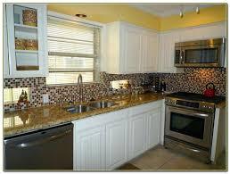 shaker cabinets kitchen glass tile backsplash with white cabinets kitchen tiles home best