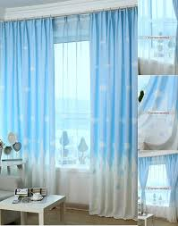 teal blue curtains bedrooms kids bedroom clouds blue best window curtains