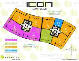 Beach Floor Plans Icon South Beach Floor Plans