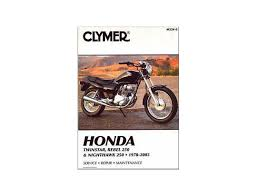 honda cb 250 m n p r t w x y 1 two fifty mc26 92 03 manual clymer