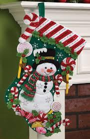 snowman bucilla kit