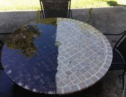 Cleaning Patio Furniture by How To Clean Your Outdoor Patio Furniture With A Pressure Washer