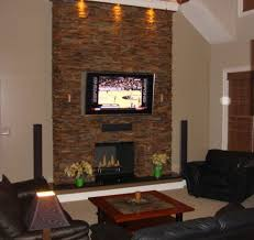 decorations stack stone fireplace diy ideas for faux stacked