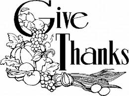 thanksgiving black and white give thanks black and white clipart