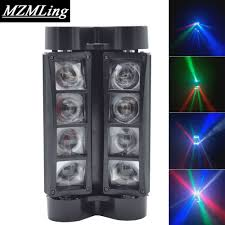 8x10w white color led spider moving head beam light dmx led spider