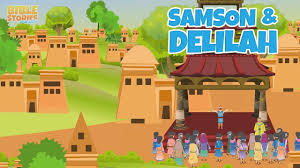 samson and delilah part 1 bible stories for kids youtube