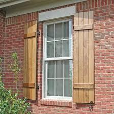 Shutters For Homes Exterior - best 25 exterior wood shutters ideas on pinterest diy shutters