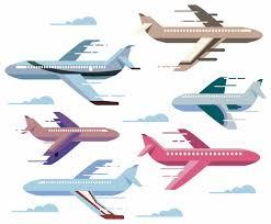 zooming cartoon plane vectors vector art u0026 graphics freevector com