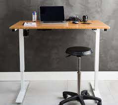 jarvis bamboo adjustable standing desk stand up desks australia solid bamboo from ready set stand