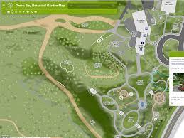 Green Bay Map Green Bay Botanical Garden Basemap Robert E Lee U0026 Associates Inc
