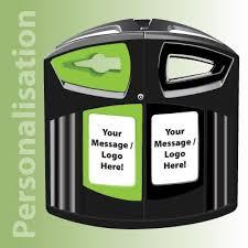 Teh Eco nexus 200 outdoor recycling bin eco teh baltia