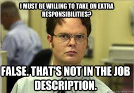 Job Memes - meme monday schrute teaches us about being a team player
