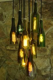 How To Make A Chandelier Out Of Beer Bottles One Of A Kind Designed Exclusively By Industrial Lightworks